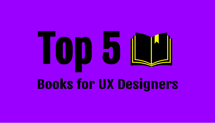 top 5 ux books